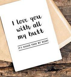 funny boyfriend birthday card birthday card by TheLittlePiper #boyfriendgift #boyfriendbirthdaygifts