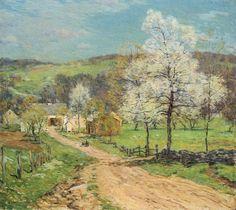 First Blossoms - Willard Leroy Metcalf