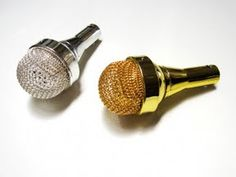 """Stylish Tech Gadgets 2012: The Best Geek-Chic Gizmos """"Microphone"""" Speaker that plugs into your phones earphone plug"""