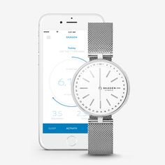 Hybrid Smartwatch - Signatur T-Bar Steel-Mesh | SKAGEN® | Free Shipping