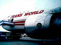 TWA - Trans World Airlines B747-100 Pratt & Whitney Engine