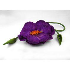 Felted Bag PANSY Handbag purple Purse Felt Nunofelt Nuno felt Silk Eco... (19010 RSD) ❤ liked on Polyvore featuring bags, handbags, shoulder bags, white purse, boho shoulder bag, purple shoulder bag, purple handbags and floral purse