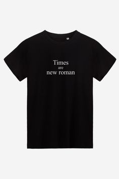 Times Are New Roman