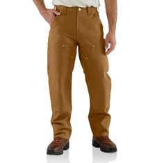 #Carhartt #Workwear : Duck Double Front Logger Pant - find more on http://workstyle.pl/
