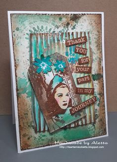 Handmade by Aletta: AA-challenge Aunts, Stamp Making, Distress Ink, Doilies, Mixed Media, Stamps, Projects To Try, Backgrounds, Challenge