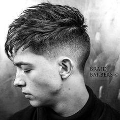 Haircut by braidbarbers http://ift.tt/22IiKS7 #menshair #menshairstyles #menshaircuts #hairstylesformen #coolhaircuts #coolhairstyles #haircuts #hairstyles #barbers