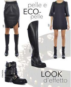 Pelle e ECO-pelle mood @ #MarsiliStore! Non perdere gli eleganti capi #Jijil, da abbinare con stivali by #ASH o con le #scarpe che preferisci. Visita la nostra selezione #AutunnoInverno2014 e scegli tu stessa! http://bit.ly/1hLzAOX