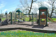 Metro Detroit Mommy: Memorial Park in Royal Oak