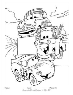Coloring contest at Kira's Cottage from May 1-May23!