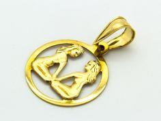 Ikrek horoszkóp arany medál