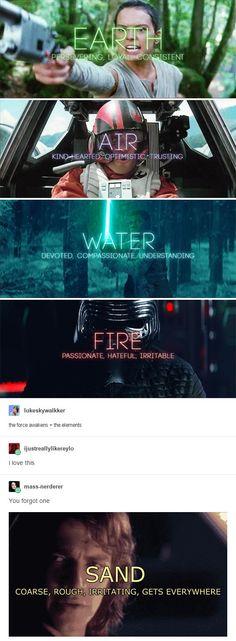 HAHA I'M DYING. Star Wars