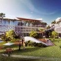 Multipurpose Complex Competition Proposal (4) Courtesy of FGMF Arquitetos