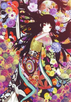 Jigoku shoujo  I have a crush on her (for the rdcord she is 400 y.o not 13 )