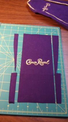 Quilting In The BunkHouse: Crown Royal-down the home stretch. Crown Royal Bottle, Crown Royal Bags, Make A Crown, Diy Crown, Crown Crafts, Quilting Tips, Quilting Projects, Sewing Projects, Diy Projects