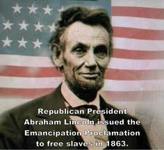The Emancipation Proclamation was an executive order issued by President Abraham Lincoln on January 1, 1863. It proclaimed the freedom of slaves in the ten states that were still in rebellion, applying to 3.1 million of the 4 million slaves in the U.S. at the time.