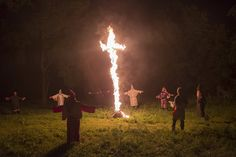 Život v hnutí Ku-klux-klan: Členové dodnes pálí kříže.