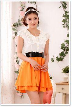 選べる3color☆ 可愛いカラーの組み合わせのカジュアルスタイル♪ - ロングドレス・パーティードレスはGN|演奏会や結婚式に大活躍!