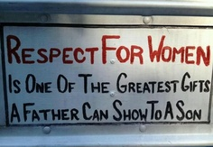 Respect...one of the greatest gifts...