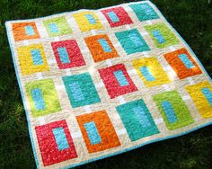 beautiful yet simple quilt
