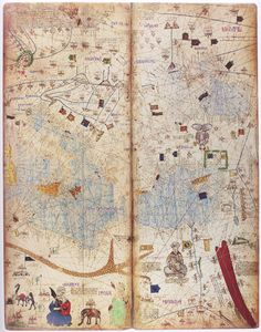 Olaus Magnus Map Of Scandinavia Section E Norway And - Norway map world atlas