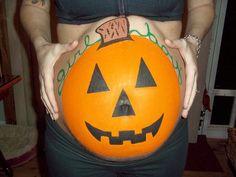 Our favorite pumpkin bellies for Halloween! #BabyCenterBlog