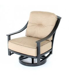 ellington springswivel club chairs | Hampton Bay Statesville Padded Sling Patio Lounge Swivel ...