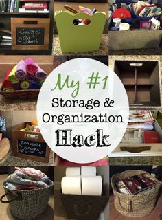 My top DIY home organization and storage hack -- upgrade your home decor and tackle clutter at the same time!