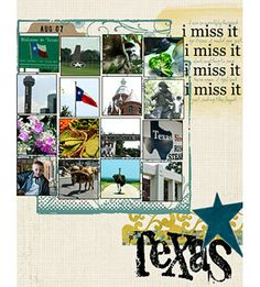 Design A Scrapbook Page On A Grid