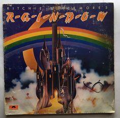RICHIE BLACKMOORE'S RAINBOW VINYL 1975 POLYDOR RECORDS FREE SHIPPING LP