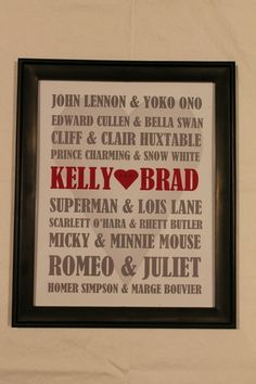 Items similar to Personalized Valentine's Day Famous Couples Frame Made-To-Order on Etsy John Lennon And Yoko, Love Frames, Famous Couples, Maybe One Day, Hopeless Romantic, Wedding Gifts, Wedding Ideas, Cute Couples, Dream Wedding