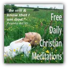 A GREAT site for Christian meditation...