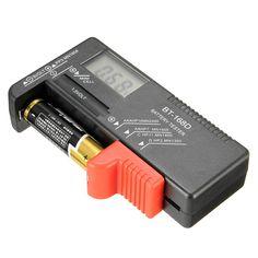 DANIU BT-168D Universal AA/AAA/C/D/9V/1.5V LCD Display Battery Tester Button Cell Volt Checker