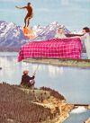 Ayham Jabr — Retrospective Dream. Surreal Mixed Media Collage...