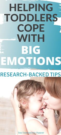 A key aspect of toddler emotional development is learning to cope with big emotions. Insight into how we can help toddlers learn emotional regulation