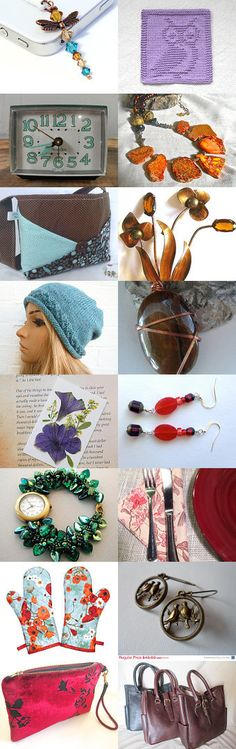 A Few of My Favorite Things  by Marcia on Etsy--Pinned with TreasuryPin.com #Etsyvintage #Estyhandmade #giftideas