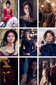 Victoria's costumes in a Brocket Hall.