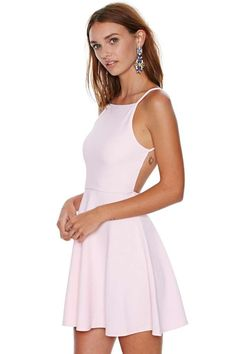 Oh My Love Back It Up Dress