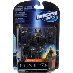 HALO MICRO OPS SERIES 1 ODST DROP PODS Figure Set Toy