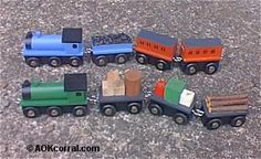 Train Table Plans - If you are into model trains, then you will surely enjoy free toy train table plans. Also free plans for wooden trains and a wall train track. Creating your own train table gives you the luxury of customization. Train Table, Wooden Train, Model Train Layouts, Kids Wood, Models, Wood Toys, Classic Toys, Model Trains, Toy Trains