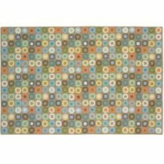 "Patterned Rugs: 5 x 8' Khaki Rug by Land of Nod. $349.00. Khaki. 100% New Zealand wool pile - 100% cotton backing attached with a blend of synthetic and natural. There's something about classic circles rug designs that keeps us coming back round and round to them. Features a soft, fresh palette of colors that add a playful touch to any nursery or bedroom. Hand-hooked, 100% wool construction is soft underfoot, yet durable. *Product Details* Handwoven, hooked .25"" p..."