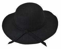 Chapéu Preto Floppy é na Chá de Mulher  chapeufeminino  chademulher   chapeupreto  chapeufloppy 1cb88288eb1