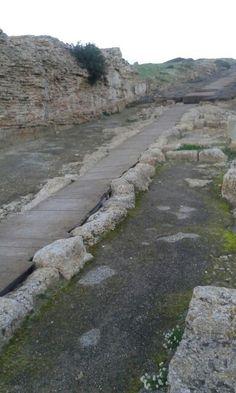 Tharros Cabras Oristano citta'romana.