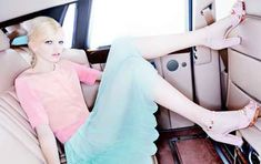Backseat Bubblegum Fashion Photography - The Jill Stuart Spring/Summer 2012 Campaign is Sweet