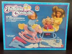 1989 Rare Heart Family Babies´ Playset MISB - Estrela - BRAZIL!