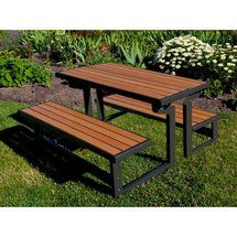 60054 Lifetime Convertible Picnic Table And Bench On