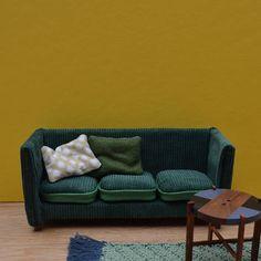 1:12 scale Miniature Sofa