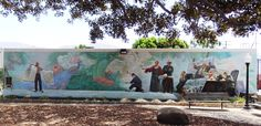 "One of nine Santa  Paula murals ""Celebrating Santa Paula's Artists and Architects"" http://www.conejovalleyguide.com/dosomethingblog/murals-of-santa-paula.html"