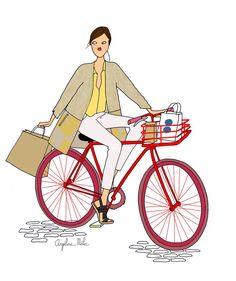 Stylée en deux roues : une sélection de looks chic et pratiques ! http://www.doitinparis.com/fr/mode-femme/le-look-de-la-semaine/stylee-en-deux-roues-2214
