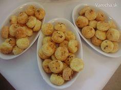 Rýchle syrové pagáčiky - recept | Varecha.sk Food And Drink, Potatoes, Dishes, Vegetables, Cooking, Breakfast, Ethnic Recipes, Nova, Polish