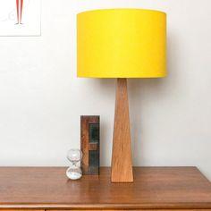 Yellow Table Lamp - hunkydory home  - 1